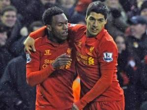 Suarez og Sturridge mynduðu frábært sóknartvíeyki hjá Liverpool og 'demanturinn' hentaði þeim vel